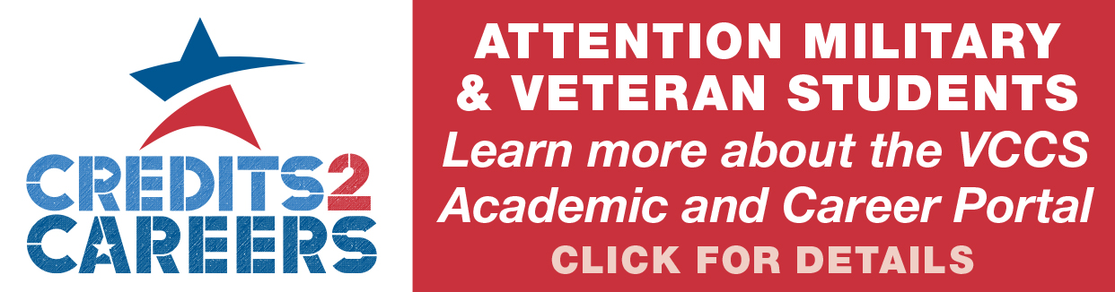 Credit2Careers Attention All Virginia Community College System's Military and Veteran Students