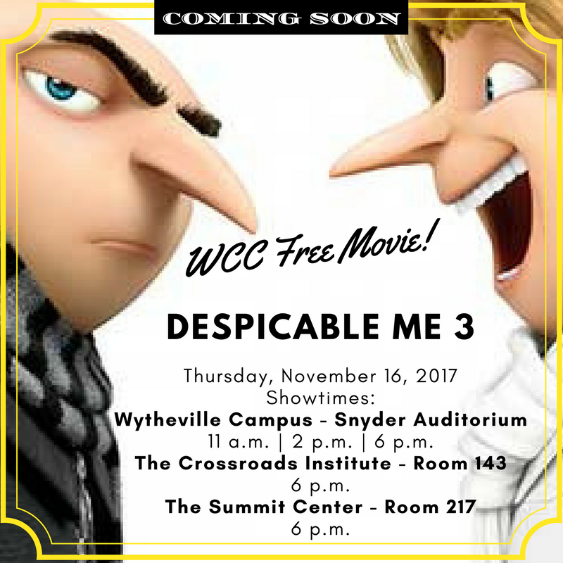Despicable Me 3 - WCC Free Movie