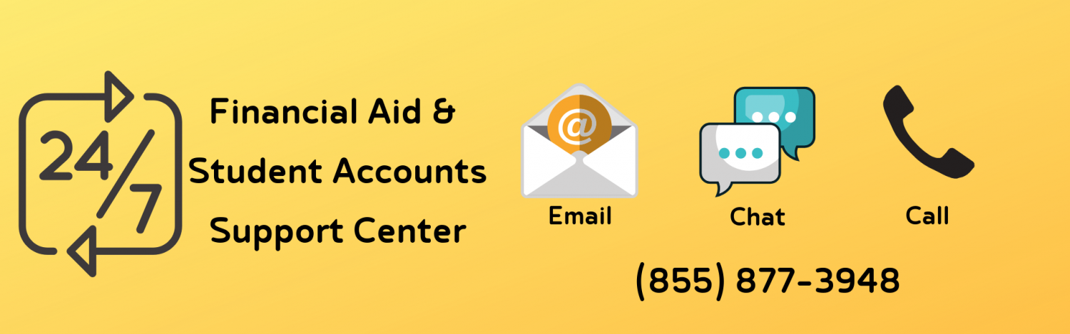 24/7 Financial Aid and Student Accounts Support Center