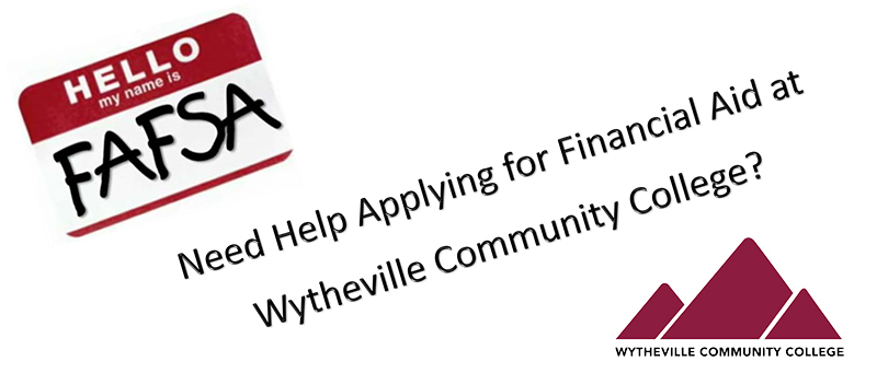 Need helo appying for finanacial aid at WCC?